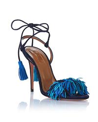 Aquazzura-Heels-Wild-thing-105-Multi-blue-Suede-Front