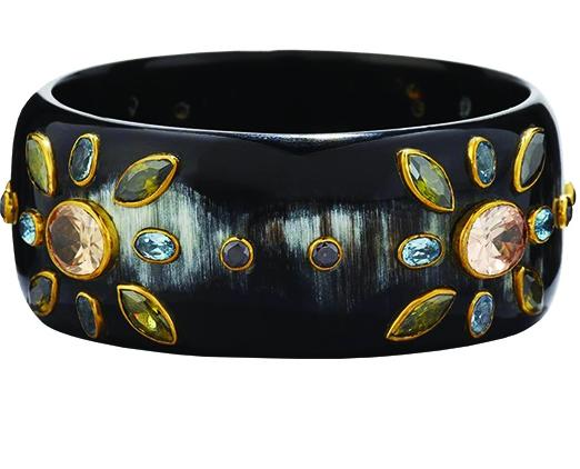 Ashley PittmanMalkia Dark Horn Bangle Bracelet