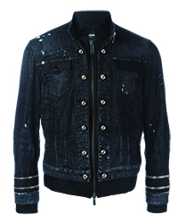 Dsquared2 Dual Fabric Jacket copy