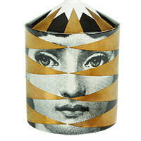 FORNASETTI LOSANGHE OTTO SCENTED CANDLE WITH LID copy copy